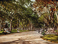 Lower end of the mall, seen in 1901
