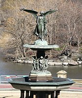 Angel of the Waters (1873) in Bethesda Fountain