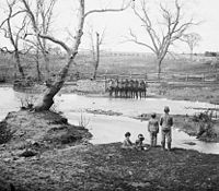 U.S. cavalry at Sudley Spring Ford