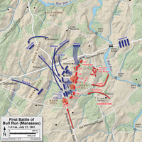 Attacks on Henry House Hill, 1–3 p.m