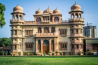 Built as a home for a wealthy Hindu businessman, the Mohatta Palace is now a museum open to the public.