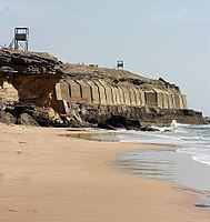 The Manora Fort, built in 1797 to defend Karachi, was captured by the British on 3February 1839 and upgraded 1888–1889.
