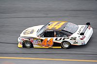 Jarrett's No. 44 car at Daytona International Speedway in 2008
