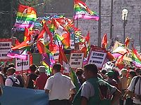 Image from the first WorldPride, held in Rome on July 8, 2000