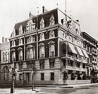 The club's second headquarters, the Jerome Mansion on Madison Avenue
