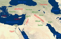 Timeline of Middle Eastern history