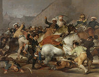The Second of May 1808: The Charge of the Mamelukes, by Francisco de Goya (1814)