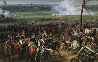 The Battle of Hanau (30–31 October 1813), took part between Austro-Bavarian and French forces.