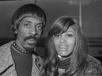 Ike & Tina Turner arriving at Amsterdam Airport Schiphol in January 1971