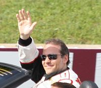 Villeneuve at the 2011 Road America Nationwide race