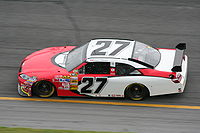 Villeneuve racing in the NASCAR Sprint Cup Series in early 2008.