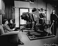 Grace Brandt and Eddie Albert in an early NBC television program The Honeymooners-Grace and Eddie Show.