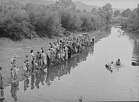 Baptism in Morehead, Kentucky, photographed by Marion Post Wolcott in 1940