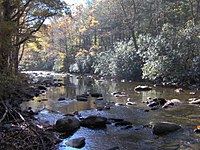 Former site of Proctor, North Carolina, setting of Kephart's book, ''Our Southern Highlanders