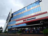 IMAX Big Cinemas in Wadala, Mumbai, India. Previously the world's largest IMAX Dome screen but later changed to standard IMAX 3D.