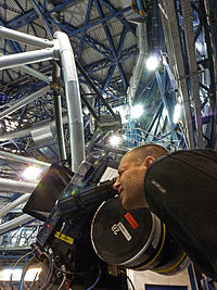 IMAX Filming at Paranal Observatory