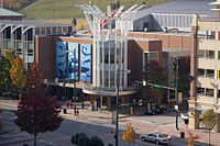 An IMAX theatre located in the Tennessee Aquarium at Chattanooga