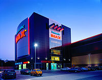 An IMAX theatre in Warsaw, Poland
