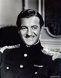 David Niven on screen, stage, radio, record and in print