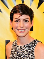 Hathaway at the Miami International Film Festival in 2014