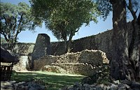 Great Zimbabwe: Tower in the Great Enclosure.