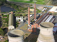 The Athlone Power Station in Cape Town, South Africa.