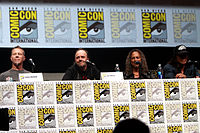 Metallica at the San Diego Comic-Con International in 2013
