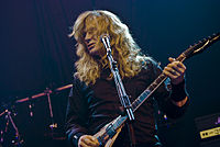 Dave Mustaine went on to found rival band Megadeth after being fired from the band in 1983.