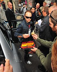 Lars Ulrich led the case against Napster for Metallica.