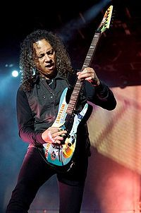 Kirk Hammett replaced Mustaine in 1983, and has been with the band ever since.