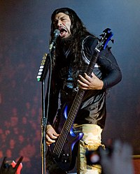 Robert Trujillo joined Metallica in 2003 after the recording of St. Anger.