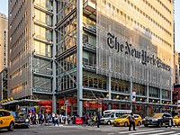 The New York Times headquarters, 620 Eighth Avenue