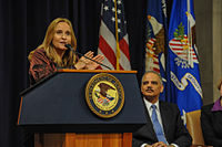 Melissa Etheridge shared her personal experiences of advocating for the LGBT community at a United States Department of Justice Event