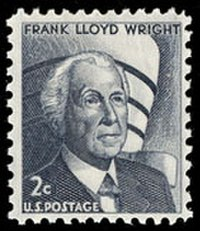 1966 2 Cent U.S. postage stamp honoring Wright