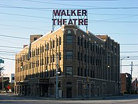 Madam Walker Legacy Center opened on Indiana Avenue in 1927 as a cultural center for the city's African American community.