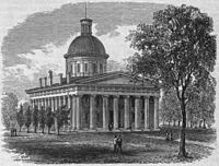 The Third Indiana Statehouse (1835–1877)