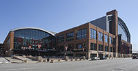 Bankers Life Fieldhouse, home to the Indiana Pacers and Indiana Fever since 1999