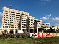Indianapolis-based Eli Lilly and Company is the city's largest employer.
