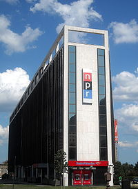 NPR's former headquarters at 635 Massachusetts Avenue NW in Washington, D.C. (demolished in 2013)