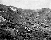 Daly West and Quincy Mines in Park City (1911)