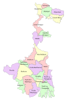 List of districts of West Bengal