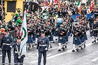 A St Patrick's Day parade in Dublin