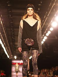 On the runway for Miss Sixty, Fall 2007 in New York Fashion Week