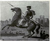 Cavalry soldier of Mughal Empire