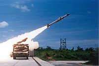 An Akash missile being test fired from the Integrated Test Range (ITR), Chandipur, Odisha.
