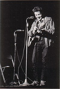 Bobby Dylan, as the college yearbook lists him: St. Lawrence University, upstate New York, November 1963