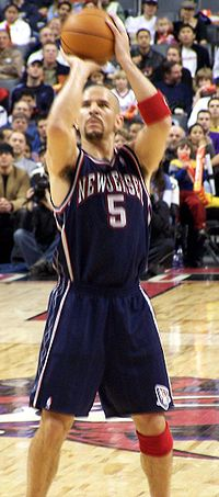 Kidd with the Nets in 2006
