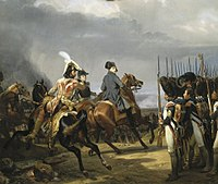 Napoleon reviewing the Imperial Guard before the Battle of Jena, 1806