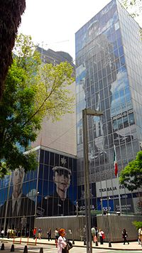 Federal Police headquarters in Mexico City