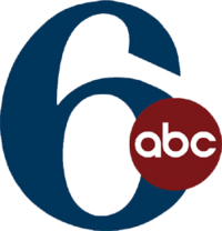 """WPVI's logo from its 1997 rebranding as """"6ABC"""" to 2010 (when its current logo debuted). The stylized 6 in its logo has been used with only minor changes since 1967, when the station was still WFIL-TV."""